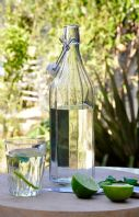 French Vintage Styled Glass Bottle Carafe